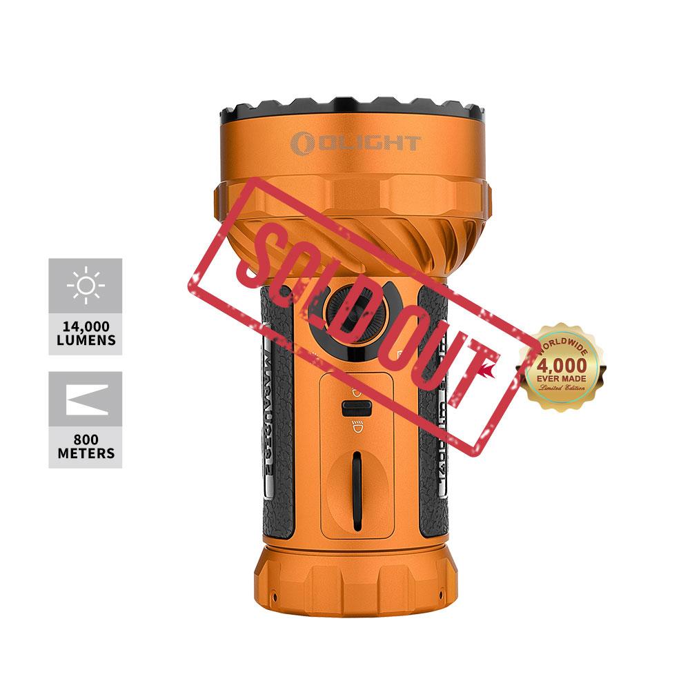 Marauder 2 Powerful Flashlight - Orange