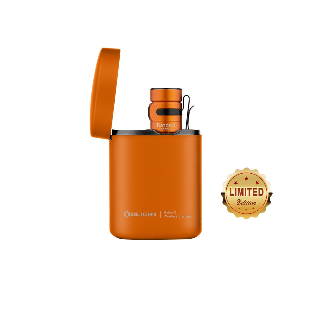 Baton 3 Rechargeable Flashlight - Orange
