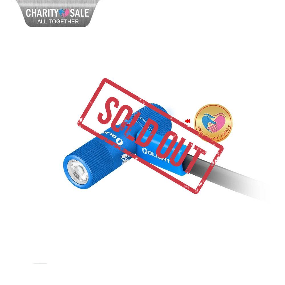 i1R 2 EOS Keychain Flashlight Kit - Blue