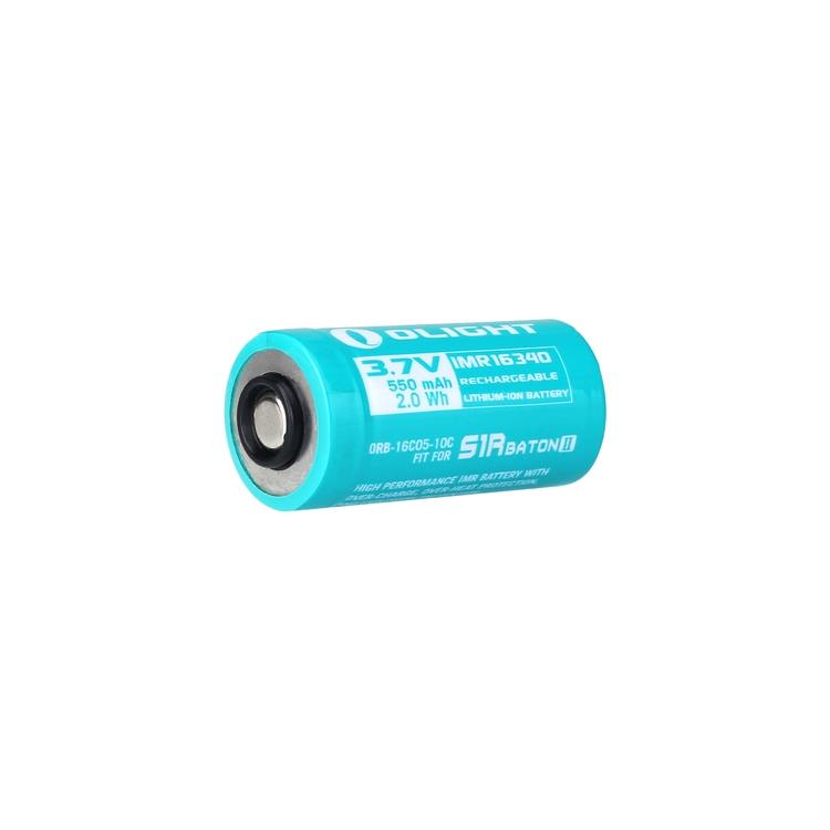 550mAh IMR16340 Battery for S1R Baton II