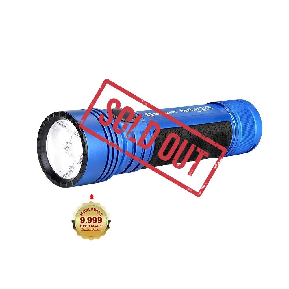 Seeker 2 Pro Handheld Flashlight - Blue
