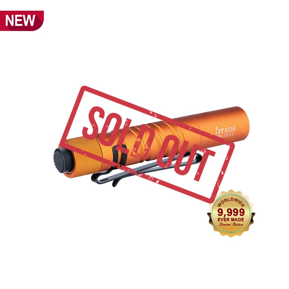 i3T AAA Flashlight - Orange