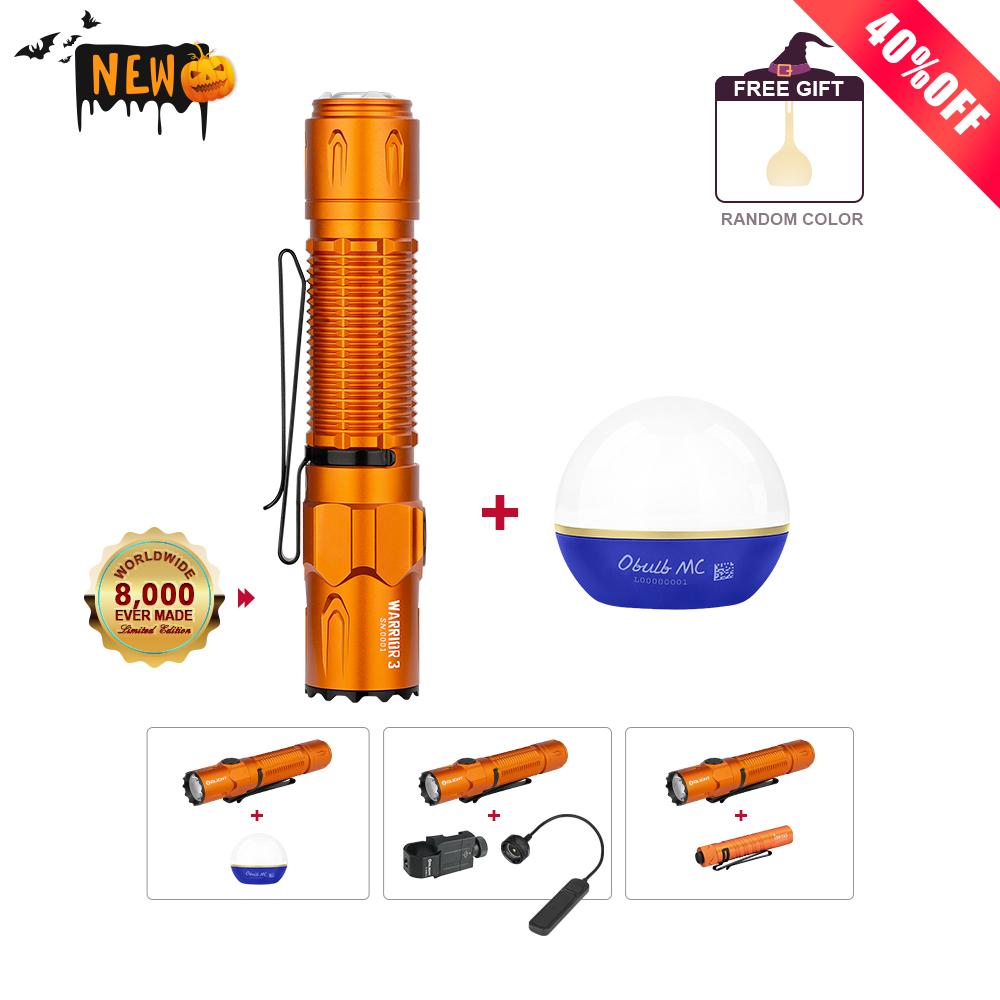 Warrior 3 Orange Bundle
