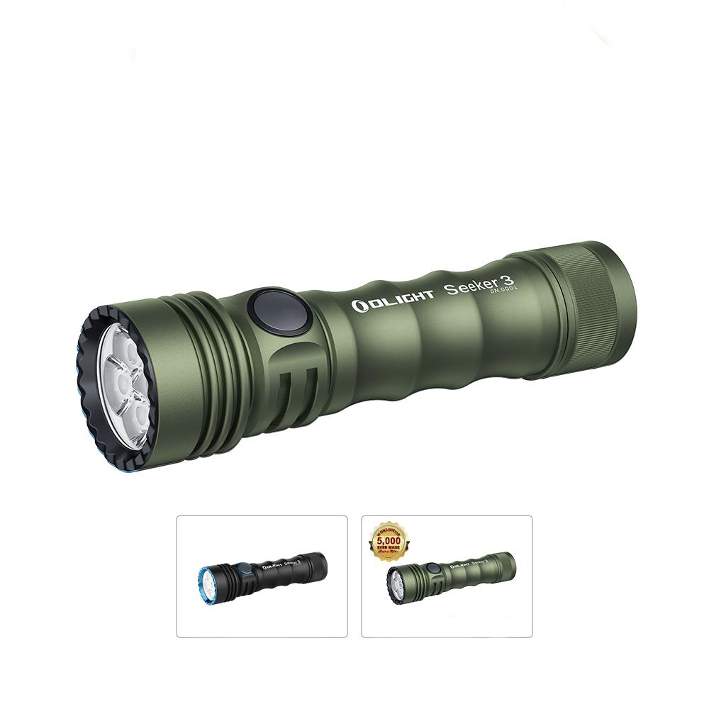 Seeker 3 Handheld Flashlight