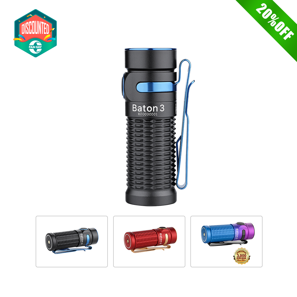 Baton 3 Rechargeable Flashlight