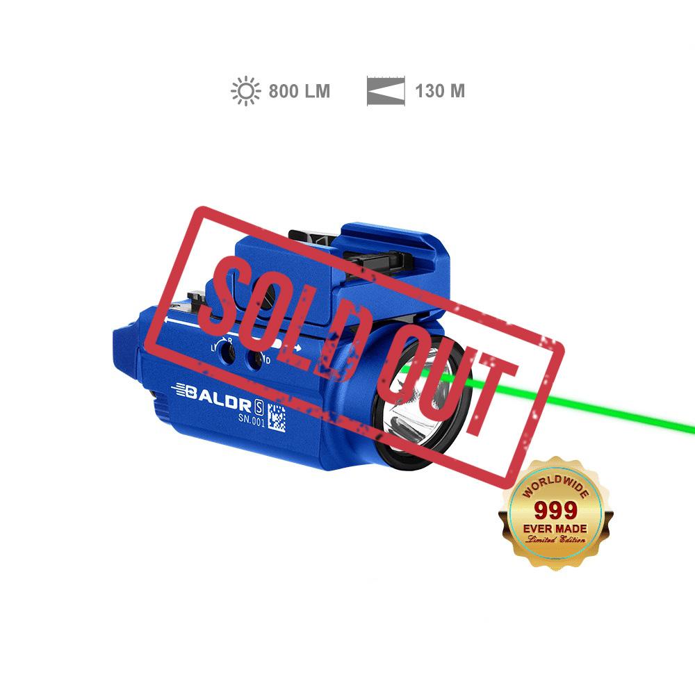 Baldr S Tactical Light 800 Lumens - Blue