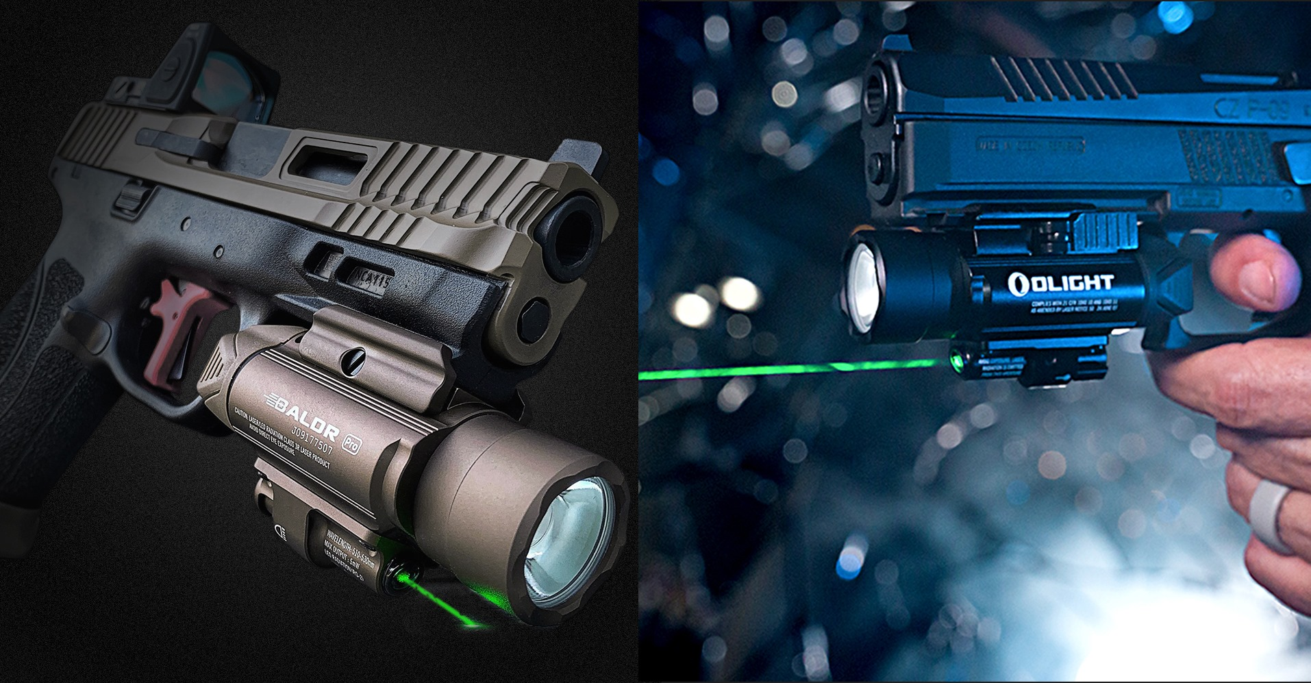 Baldr Serires, One Of The Most Popular Olight Series Tactical Lights