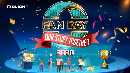Olight O-fan Day 2021 – Our Story Together!
