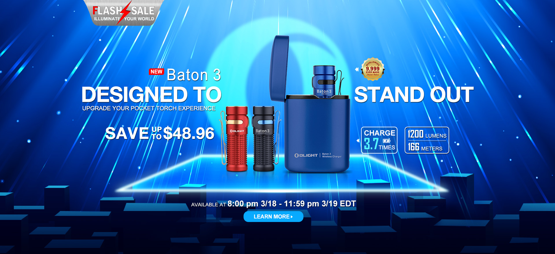 Olight March Flash Sale, Amazing New Releases