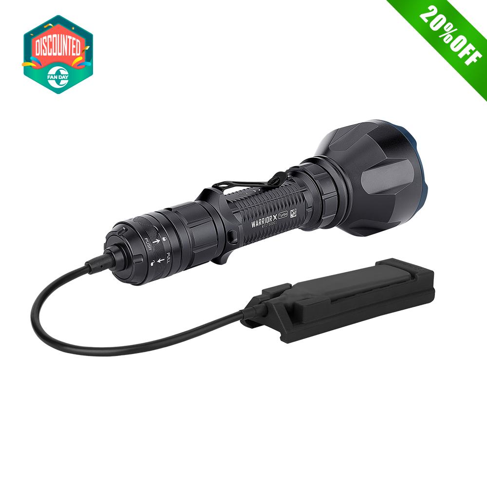 Warrior X Turbo Tactical Flashlight - Black
