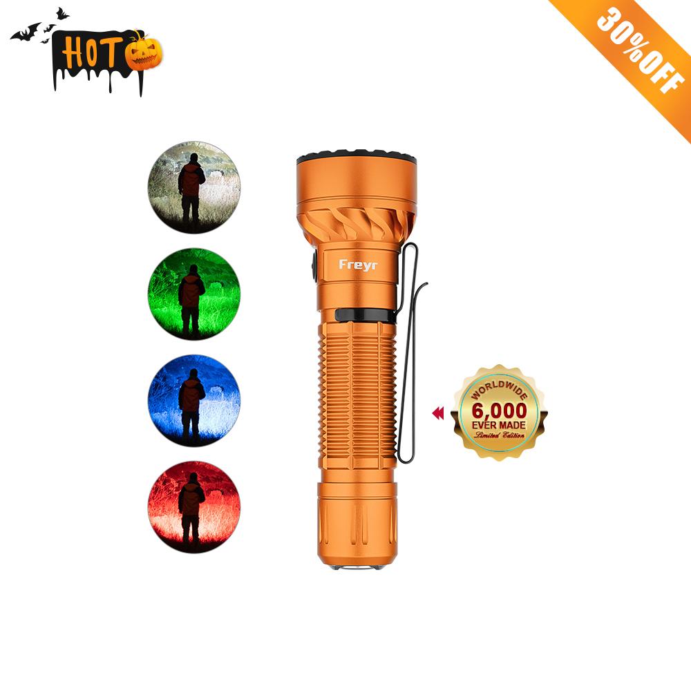 Freyr Multi Color Flashlight - Orange