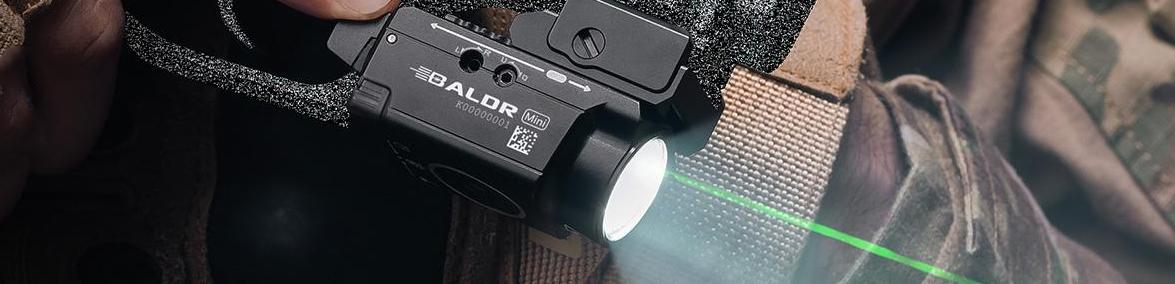 Green Laser And Red Laser Pistol Lights