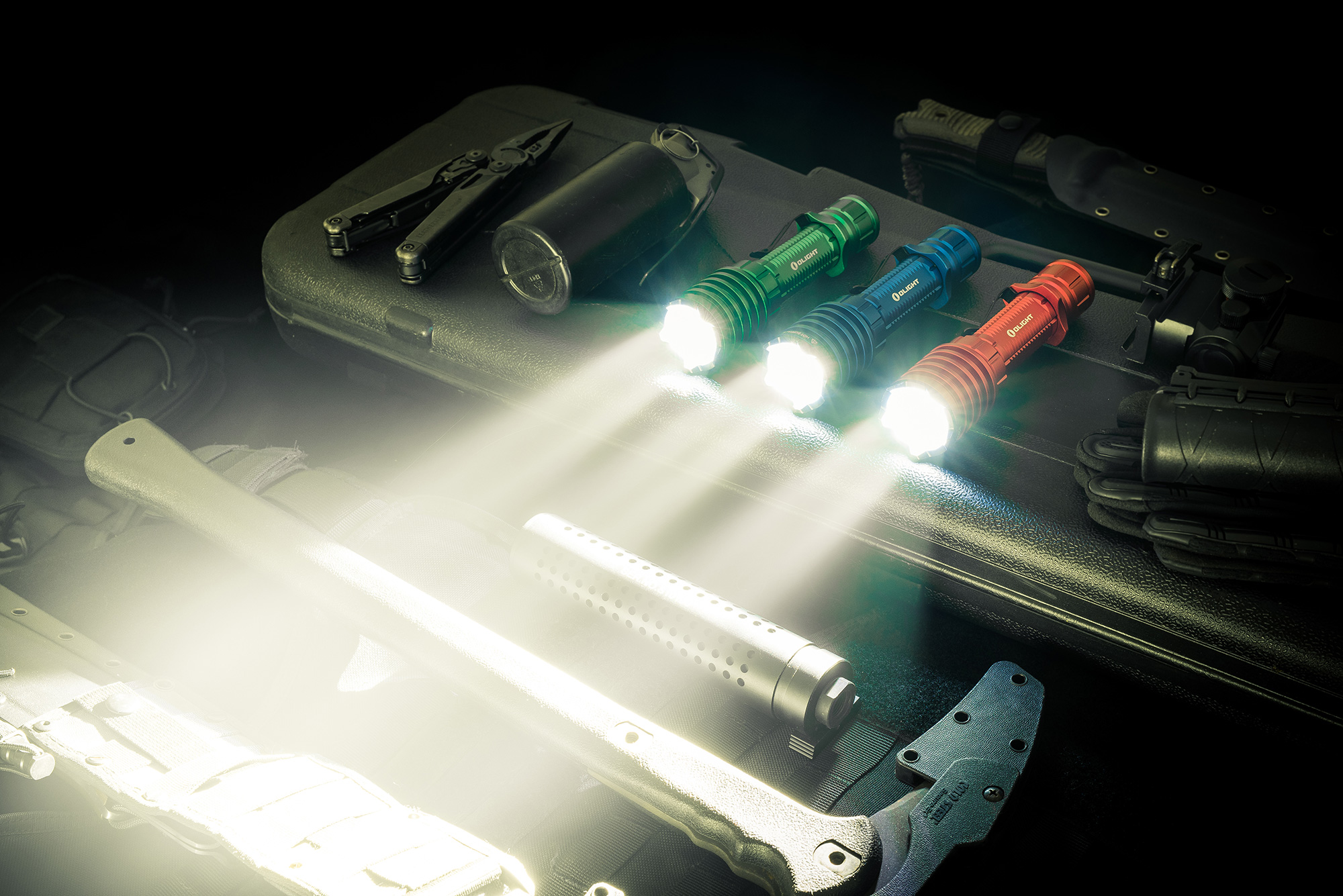Warrior X Pro—Olight Powerful tactical flashlight