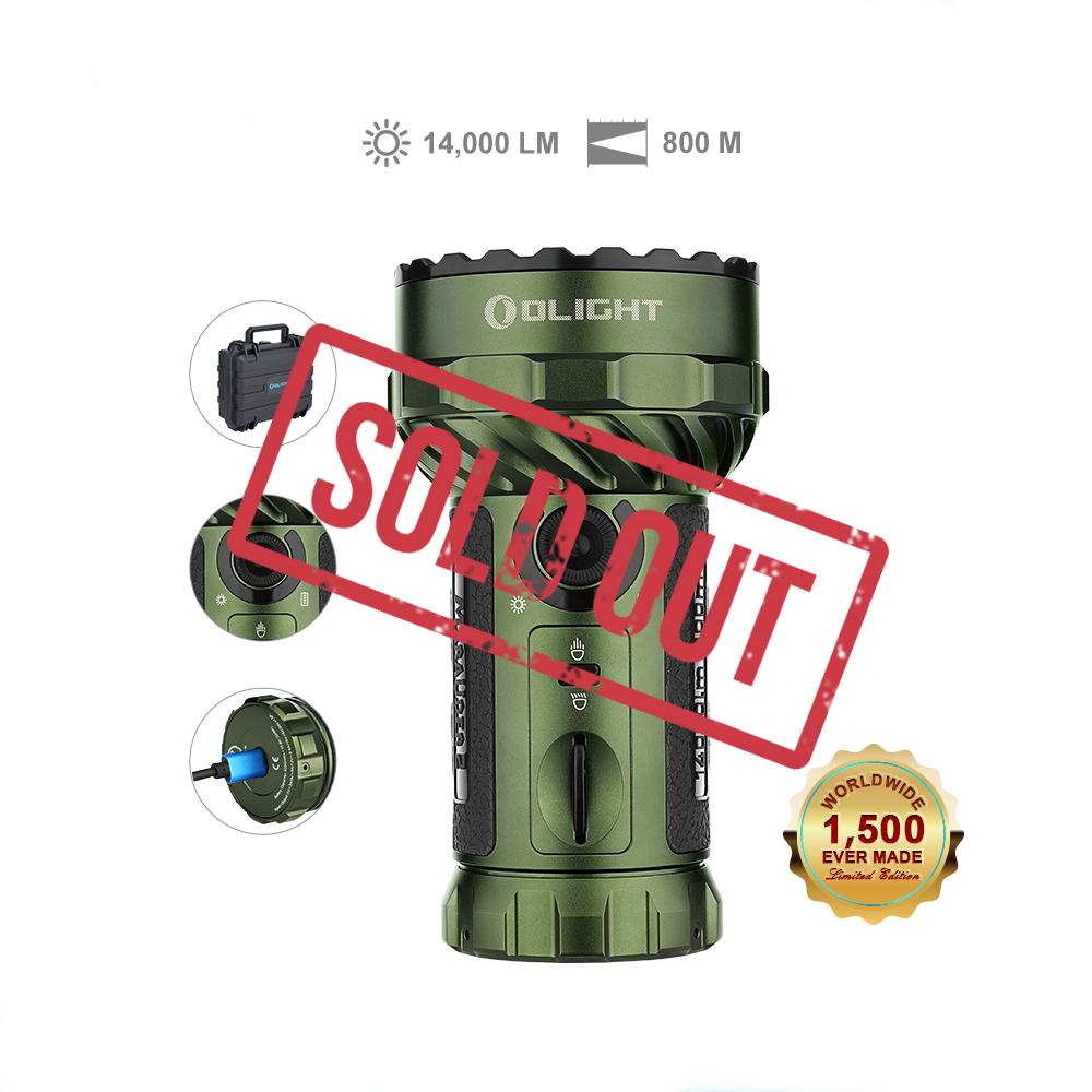 Marauder 2 Powerful Flashlight - OD Green