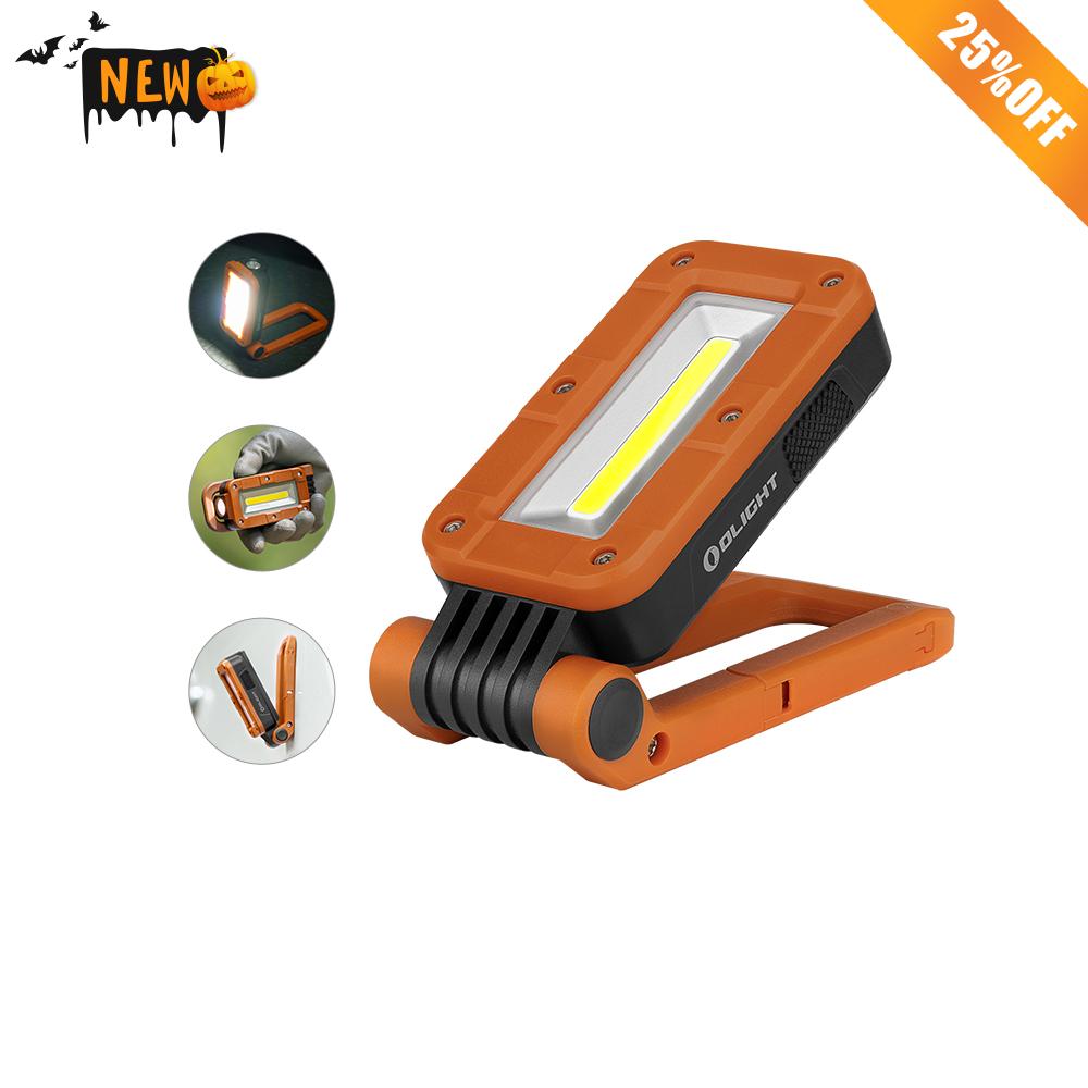 Swivel LED Work Light - Orange