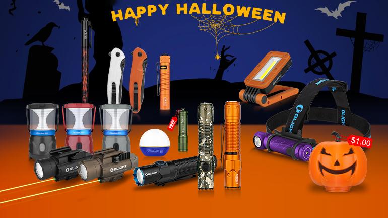 [Flashsale] October Event, Olight's Halloween Carnival