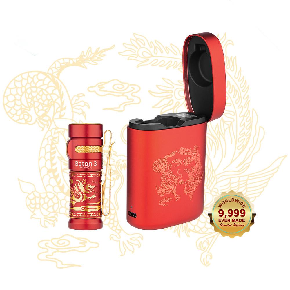 Baton 3 Premium Edition - Dragon & Phoenix