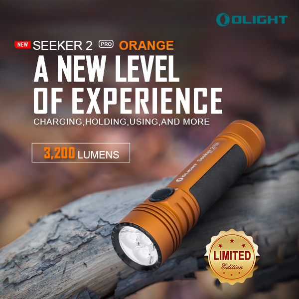 Seeker 2 Pro, One of the Most Popular Products of Olight