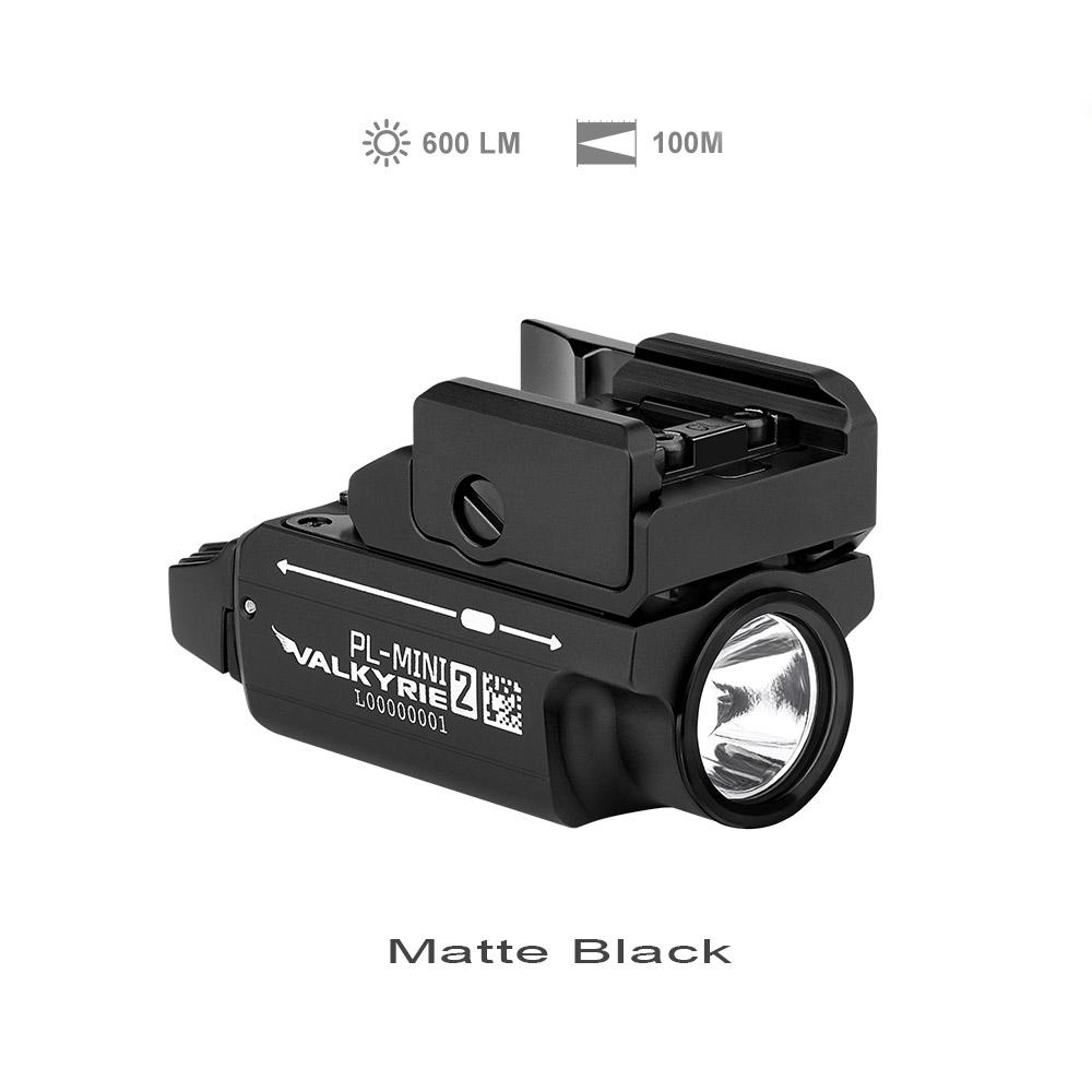 PL-MINI 2 Compact Tactical Light - Matte Black
