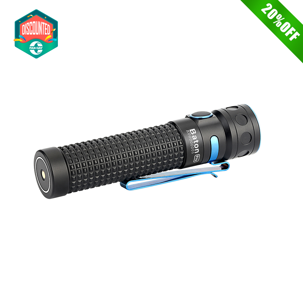 Baton Pro Pocket Flashlight