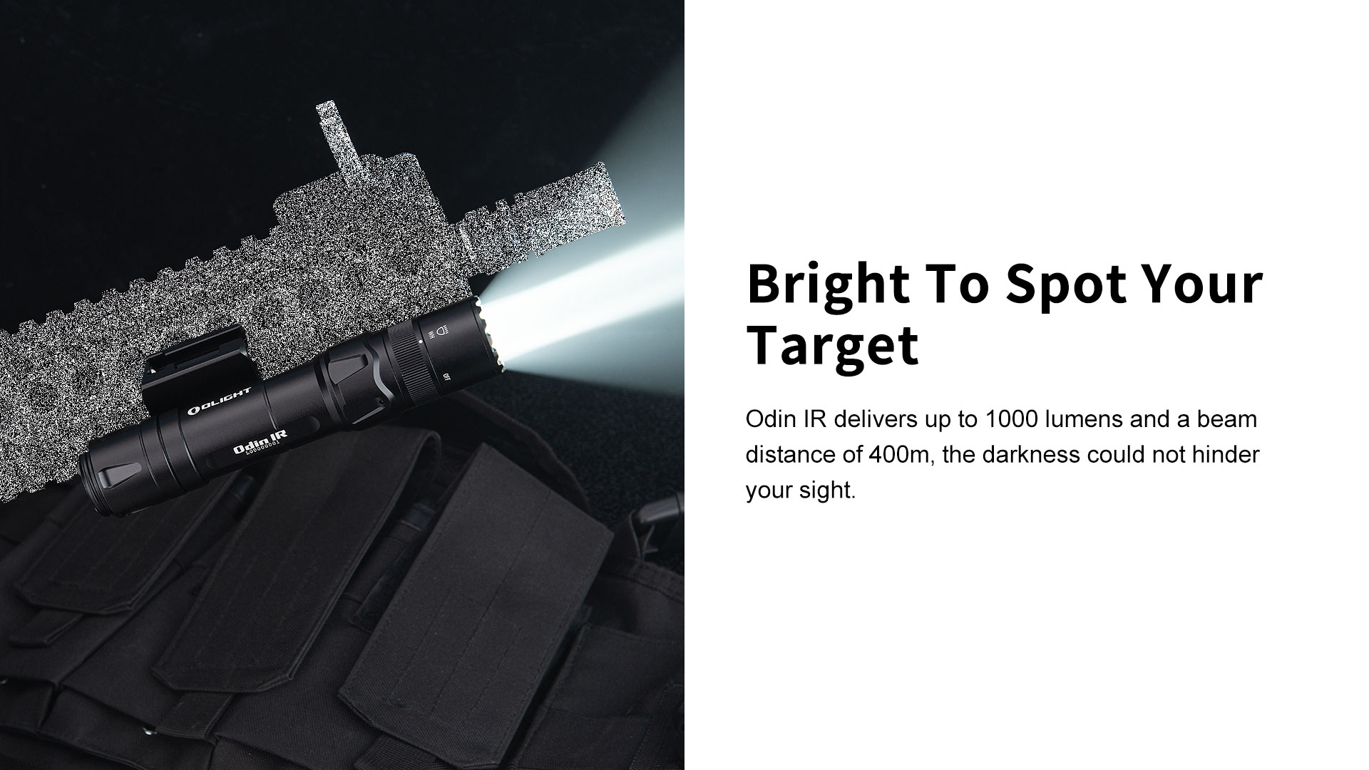 can quick install pro tactical flashlight