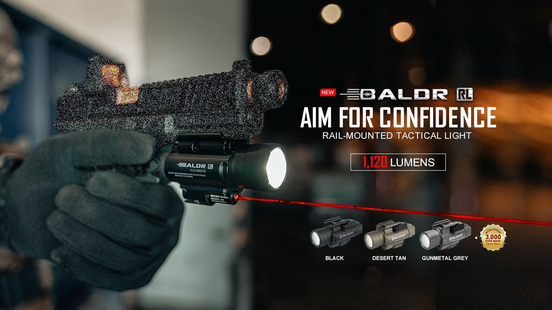 Baldr RL laser sight tactical light