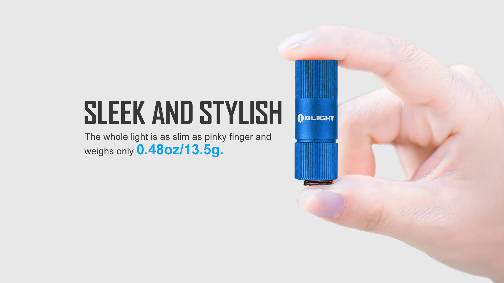 best keychain flashlight i1R 2 Eos Blue