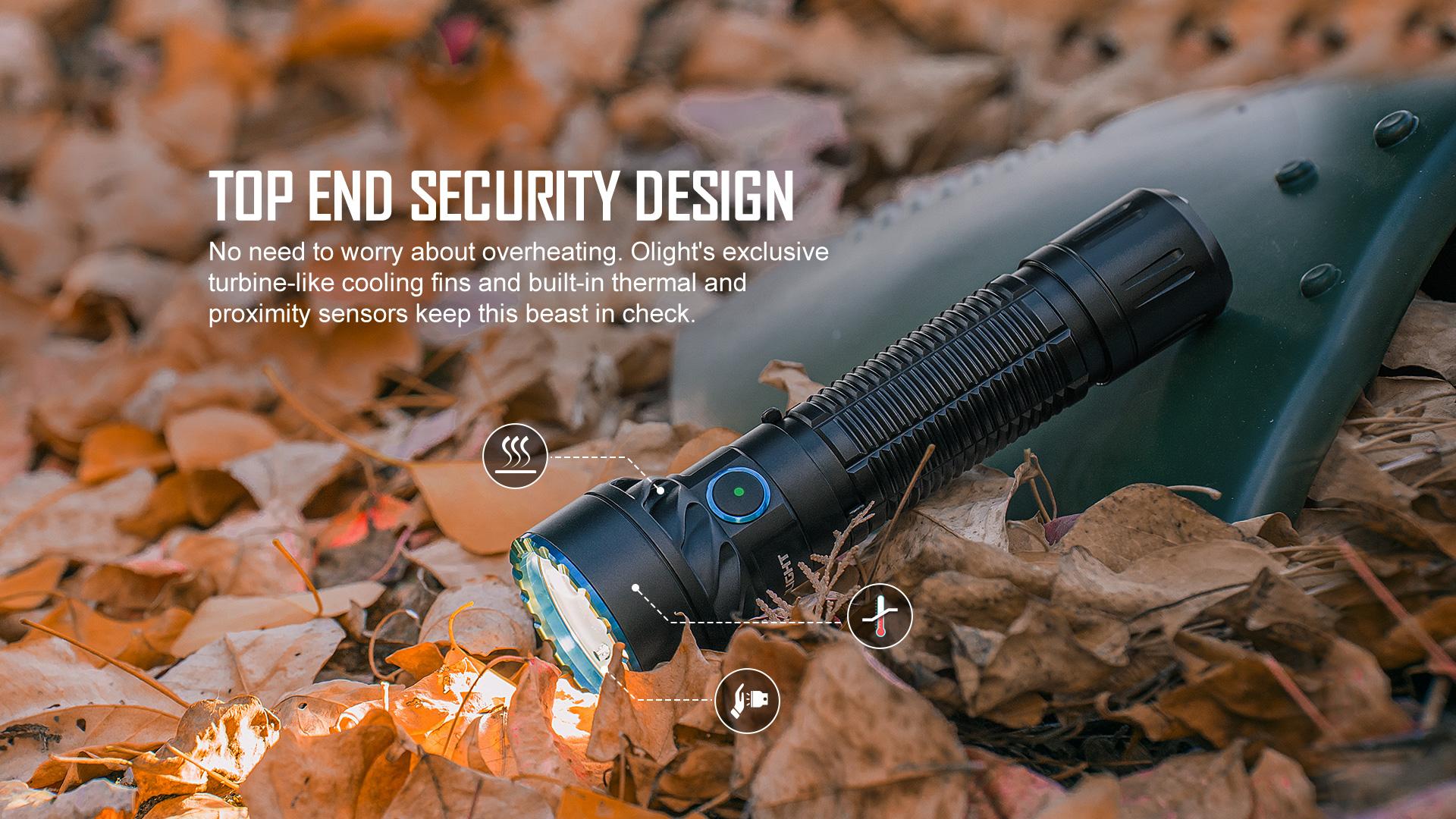 Olight Freyr has high-end security settings