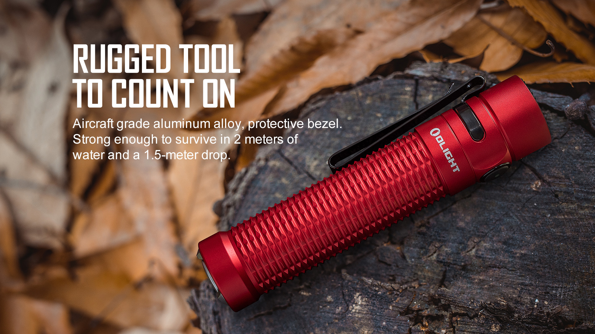 Strong and durable high end EDC flashlights