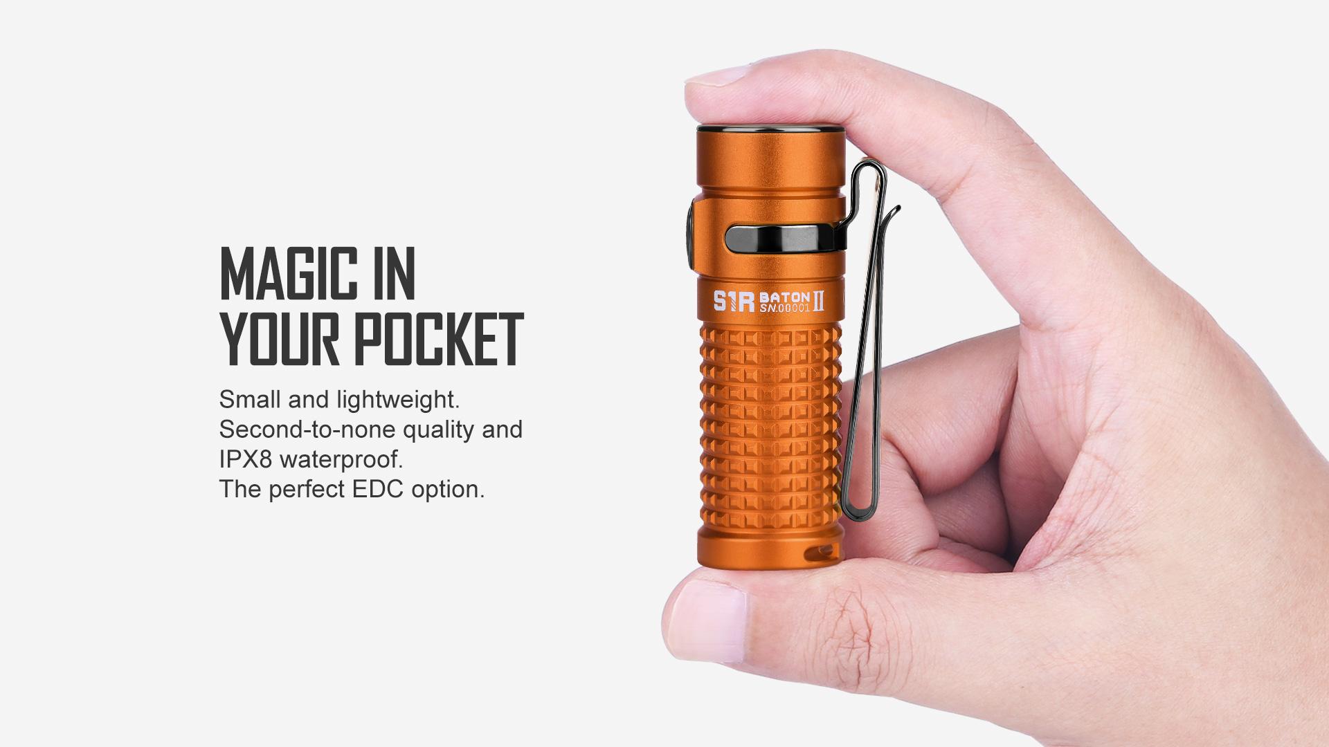 IPX8 waterproof S1R Baton II