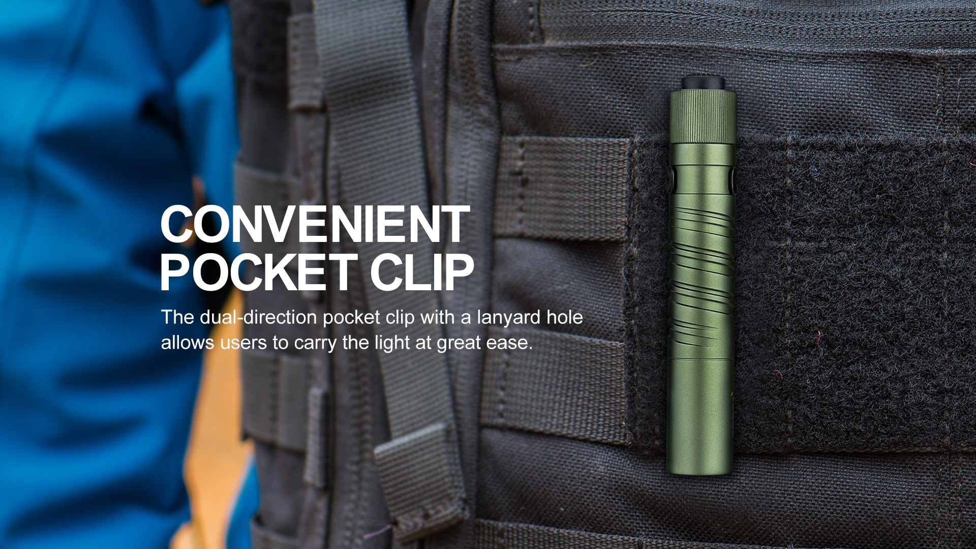versatile carry Olight i3T EOS
