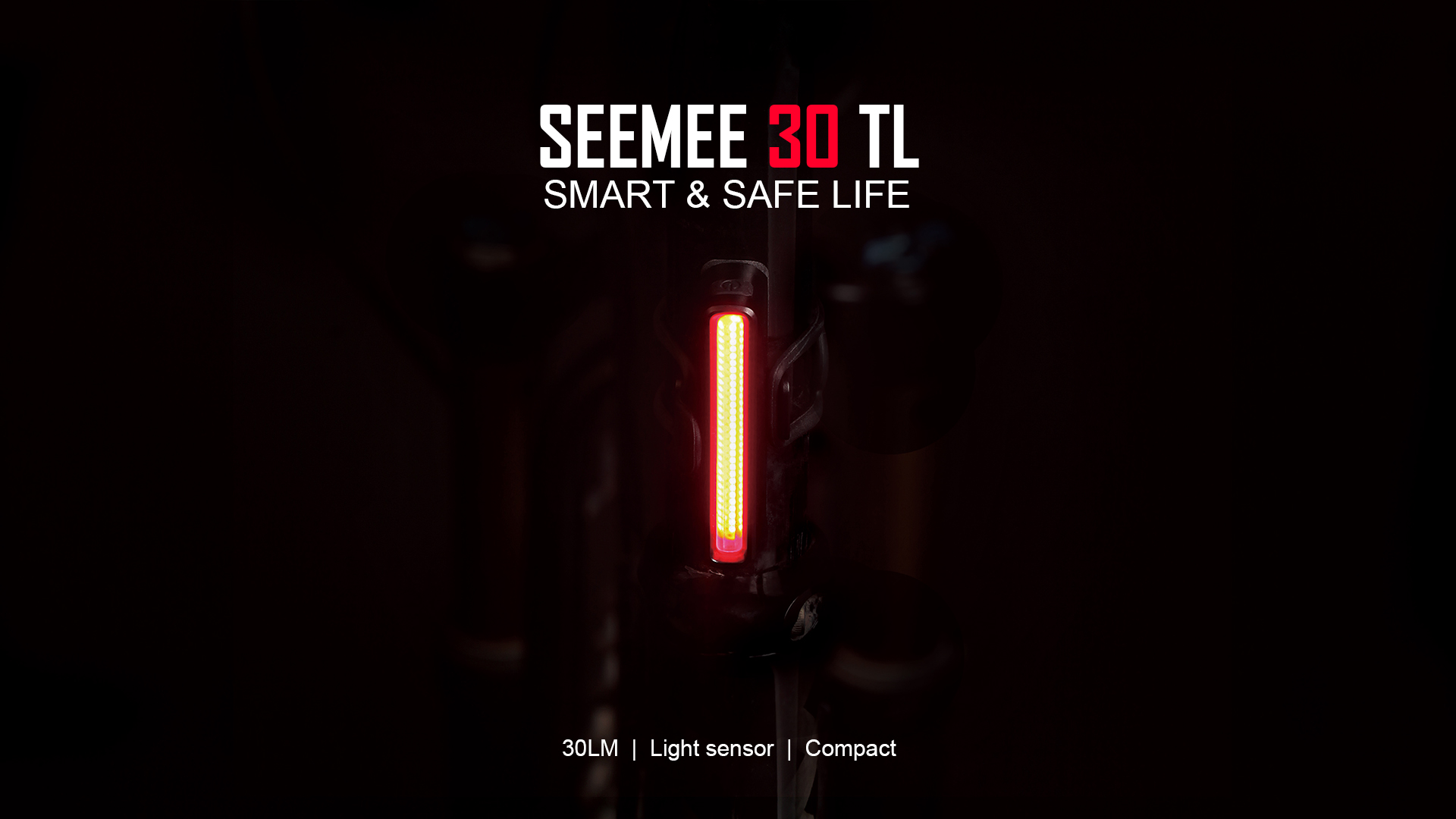 Smart & Safe Life SEEMEE 30 TL LED Bicycle Tail Light