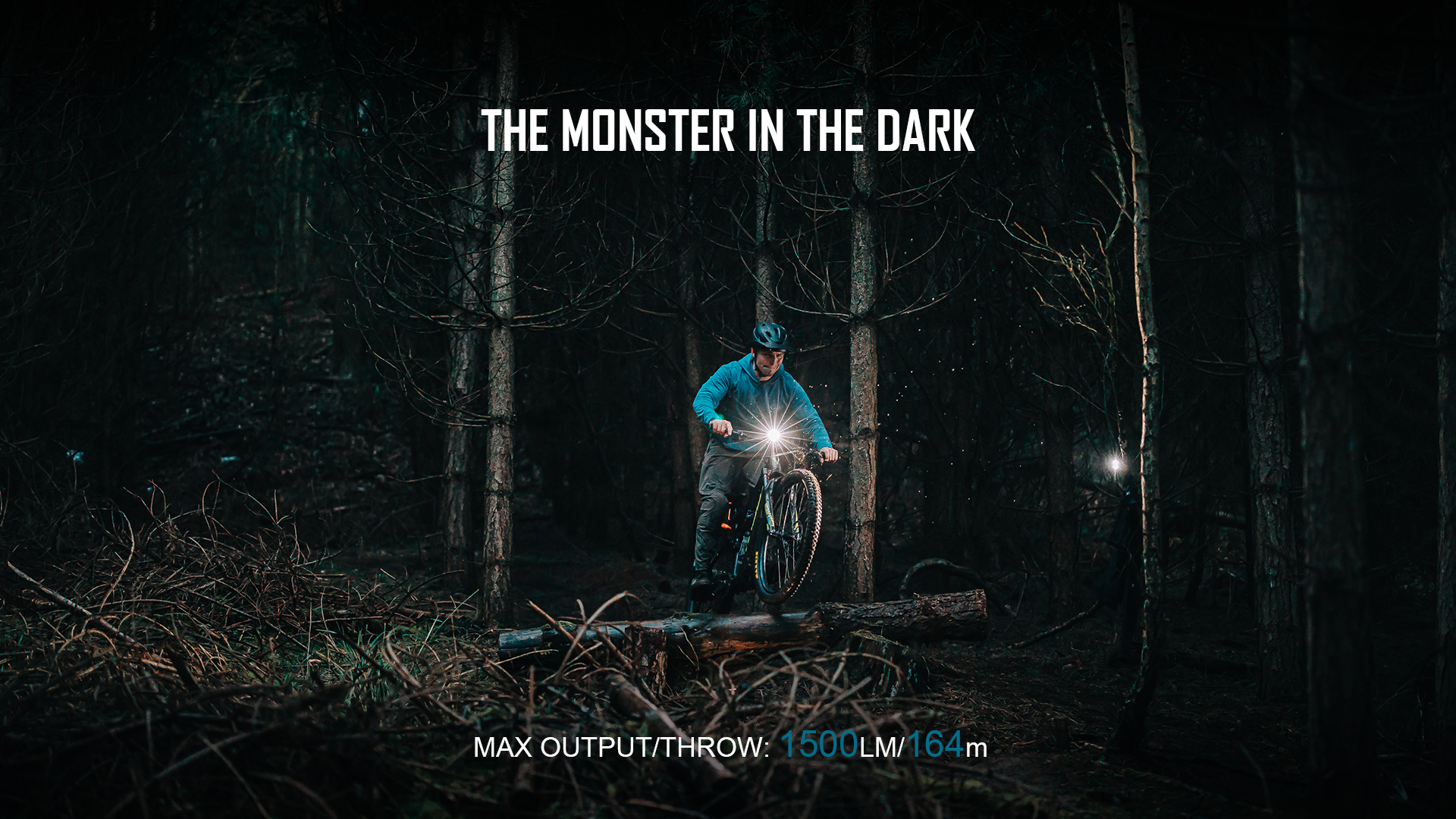 The Monster in the Dark RN1500 Bicycle Front Light