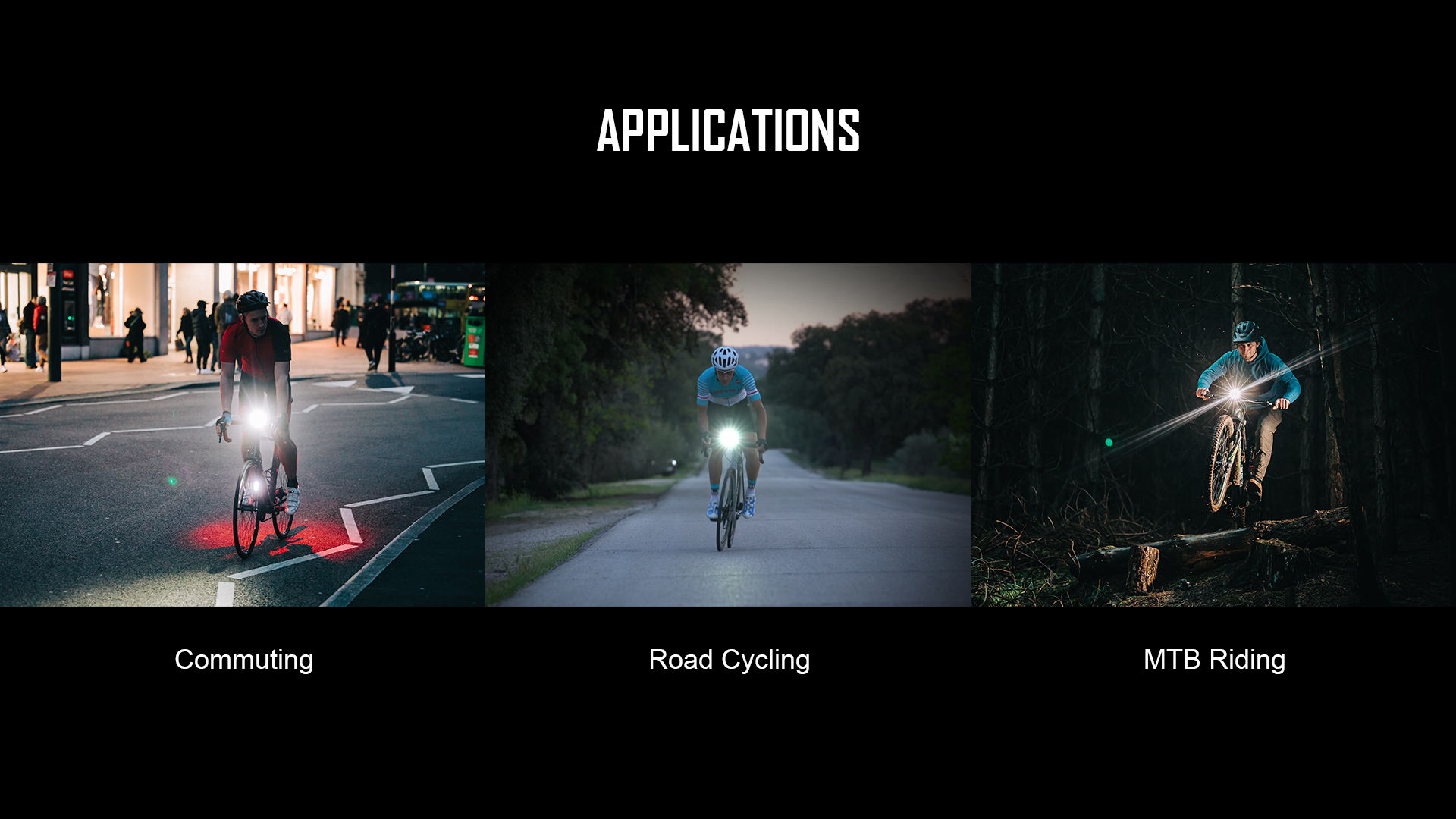 Multi Application RN1500 Bicycle Front Light