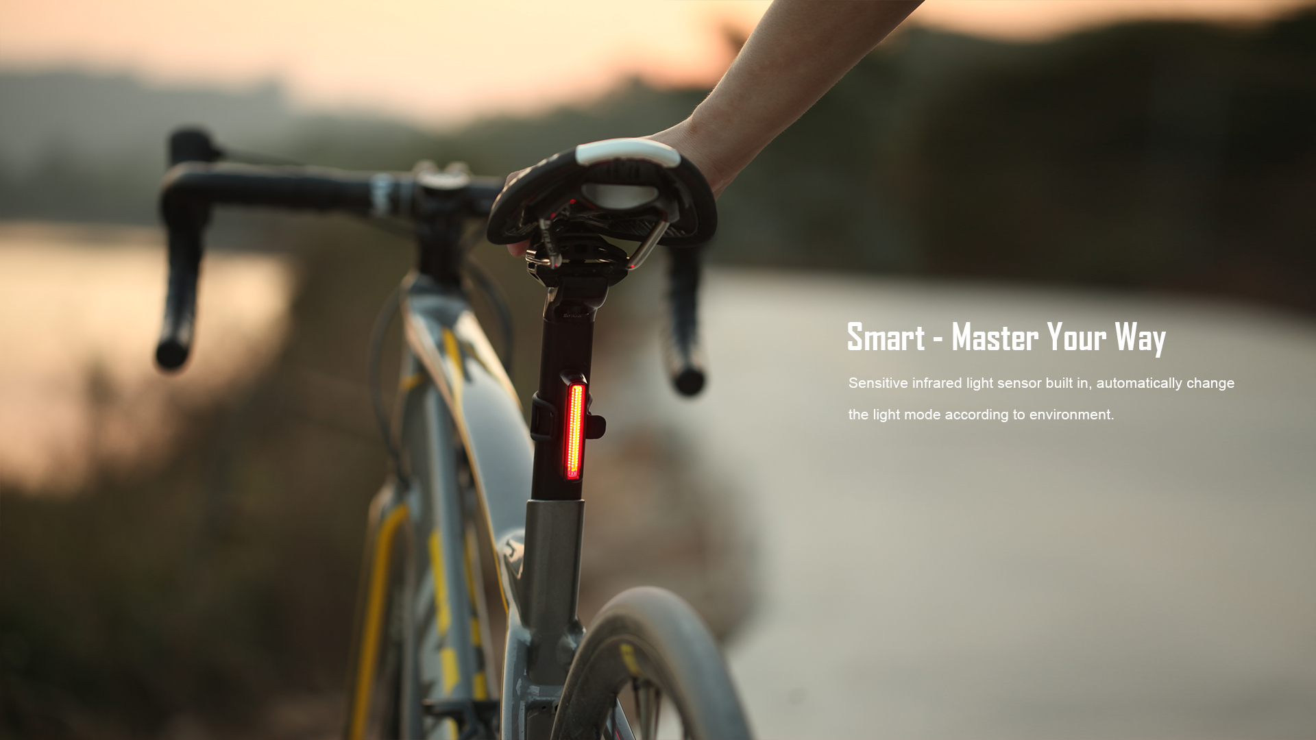 Master Your Way SEEME 30 TL LED Bicycle Tail Light