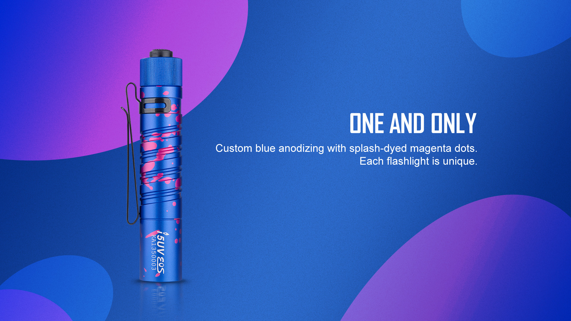 Uniquely designed i5 UV EOS