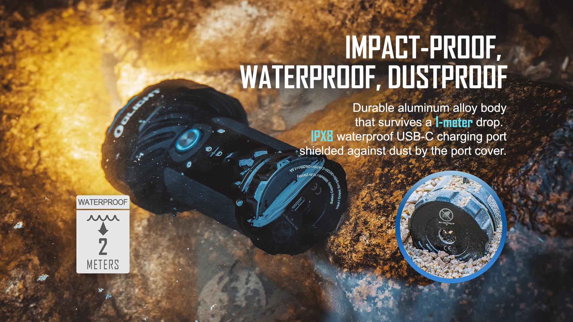Marauder 2 with high waterproof performance