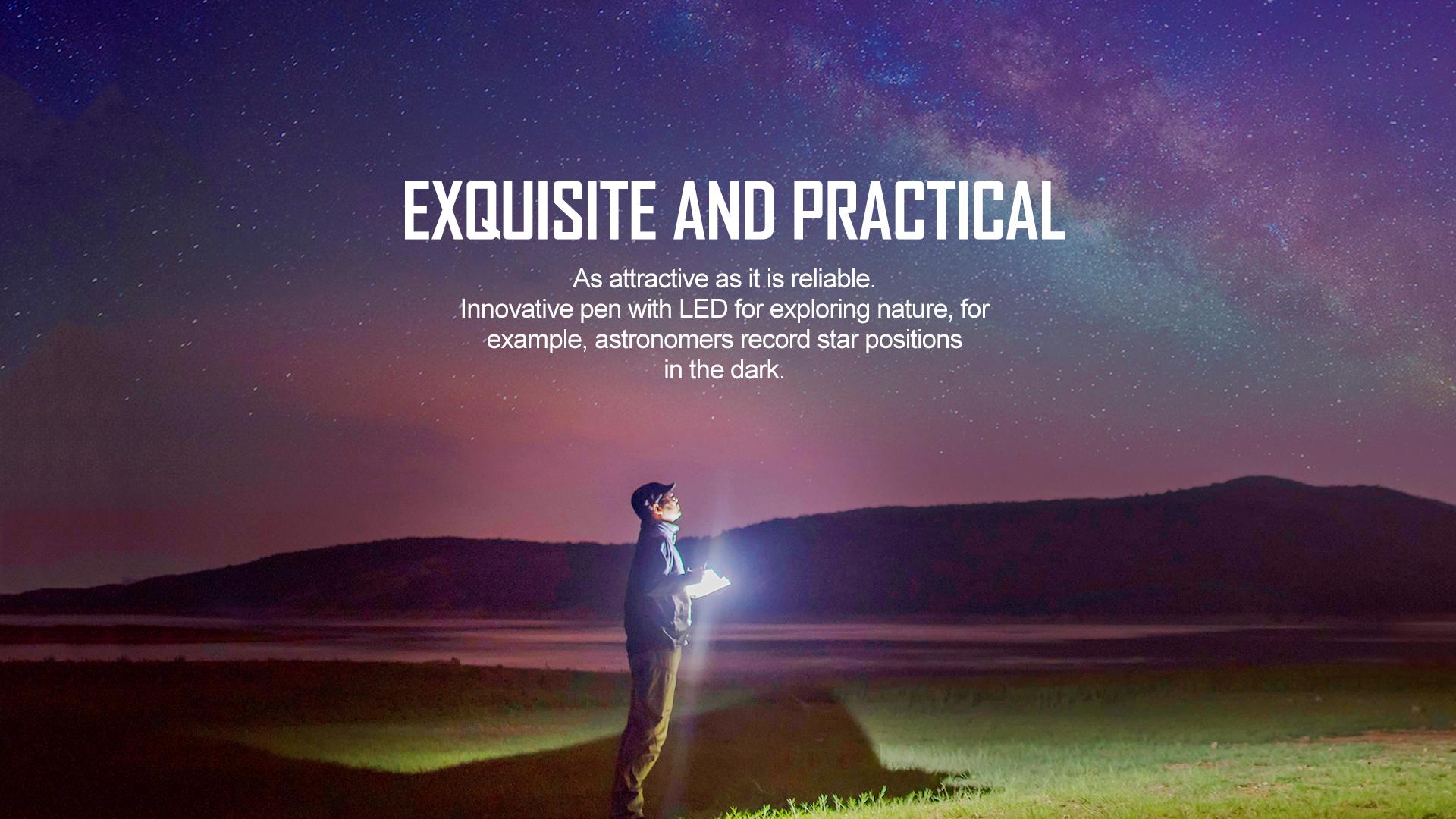 Exquisite and Practical penlight Open 2