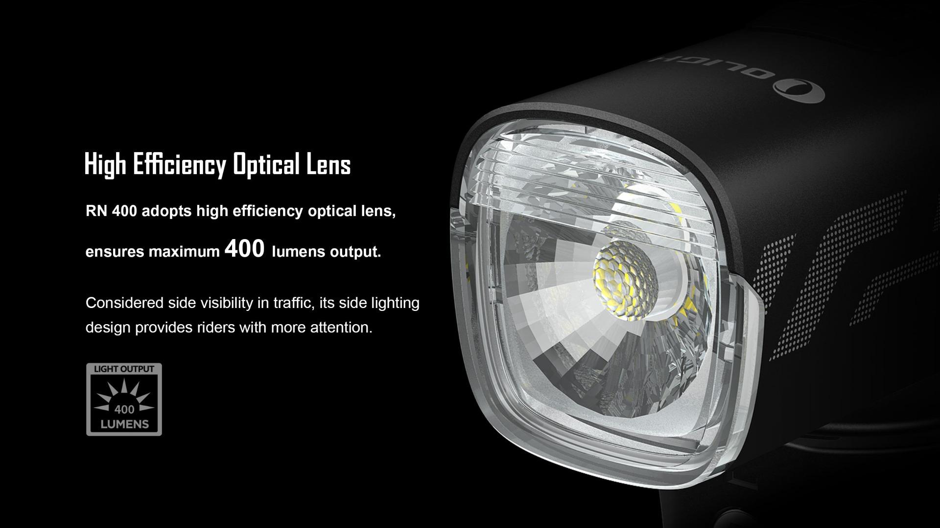 RN 400 bike LED headlight