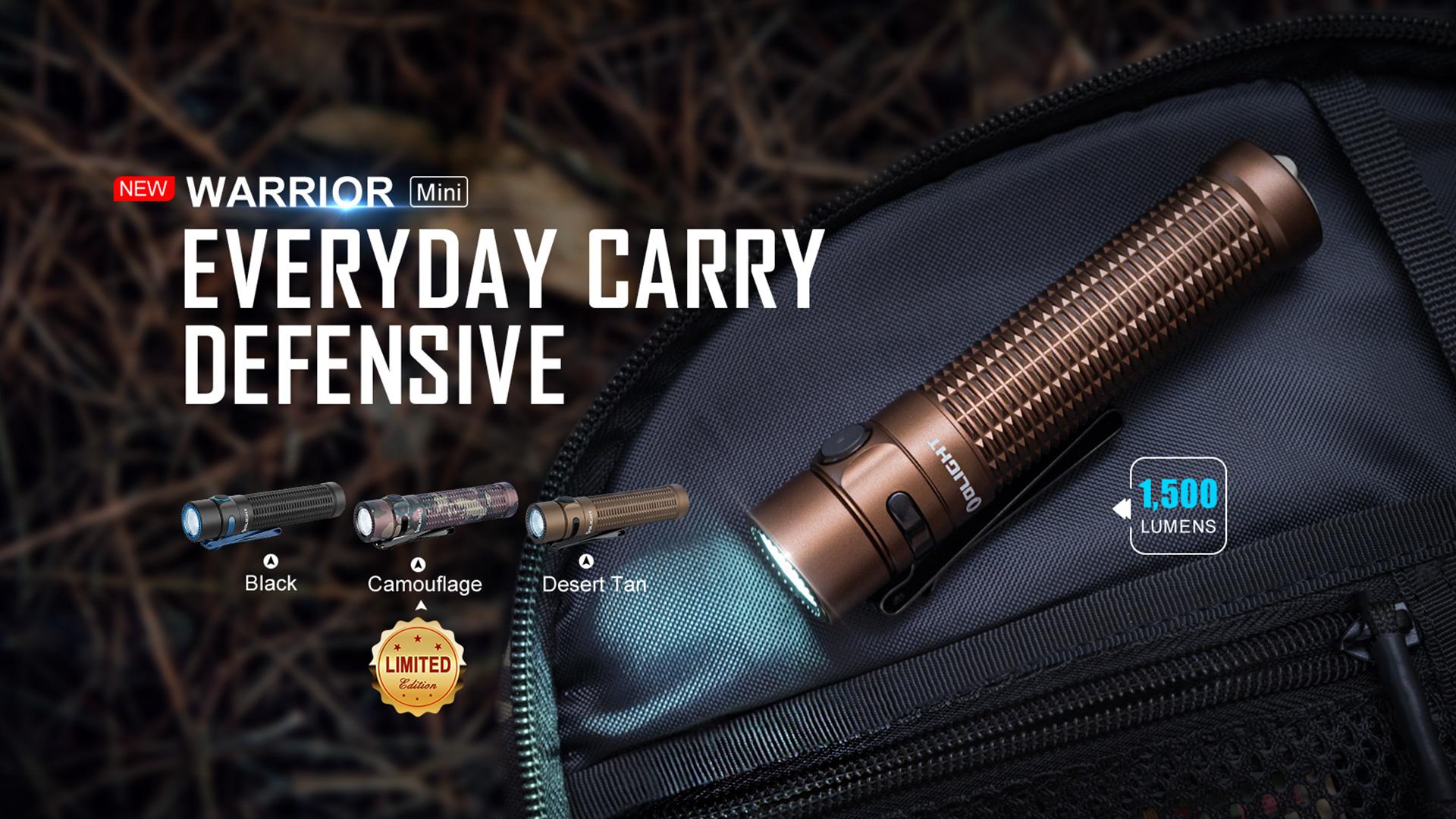 Warrior Mini small tactical flashlight