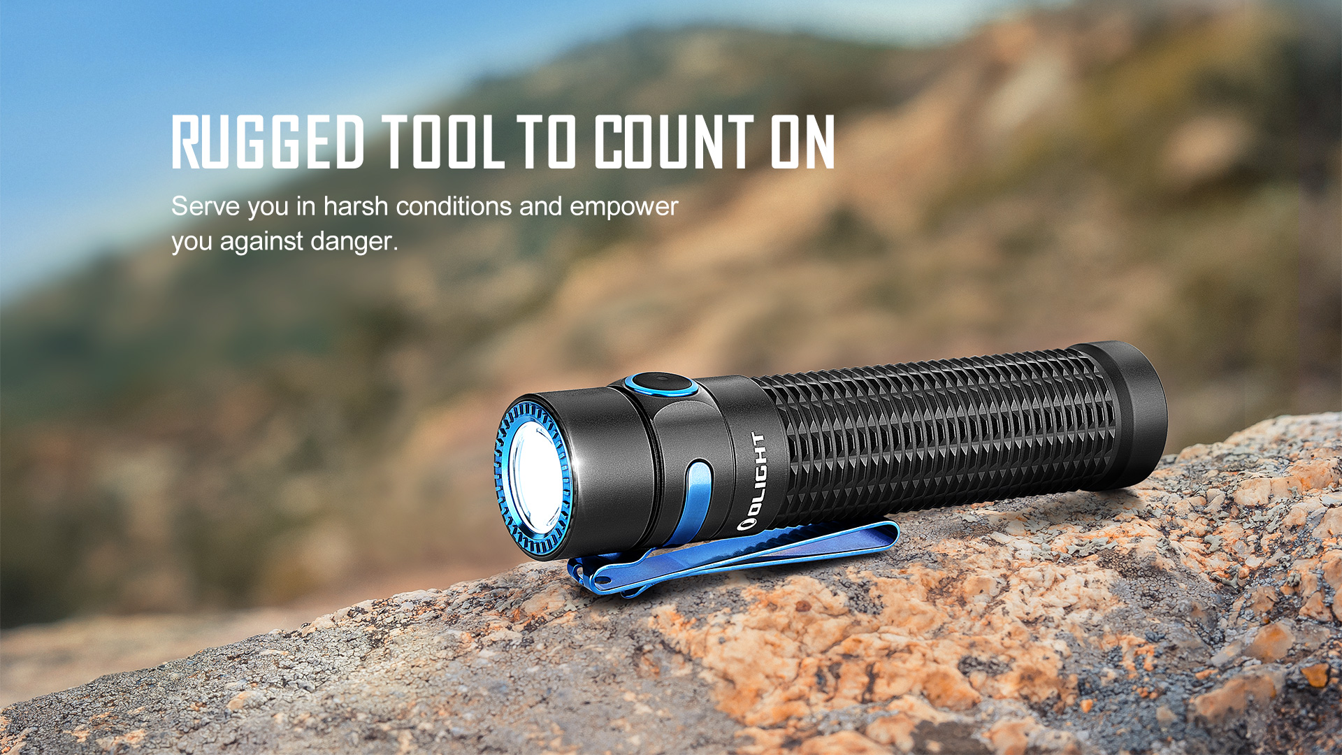 Rugged and Durable small tactical flashlight
