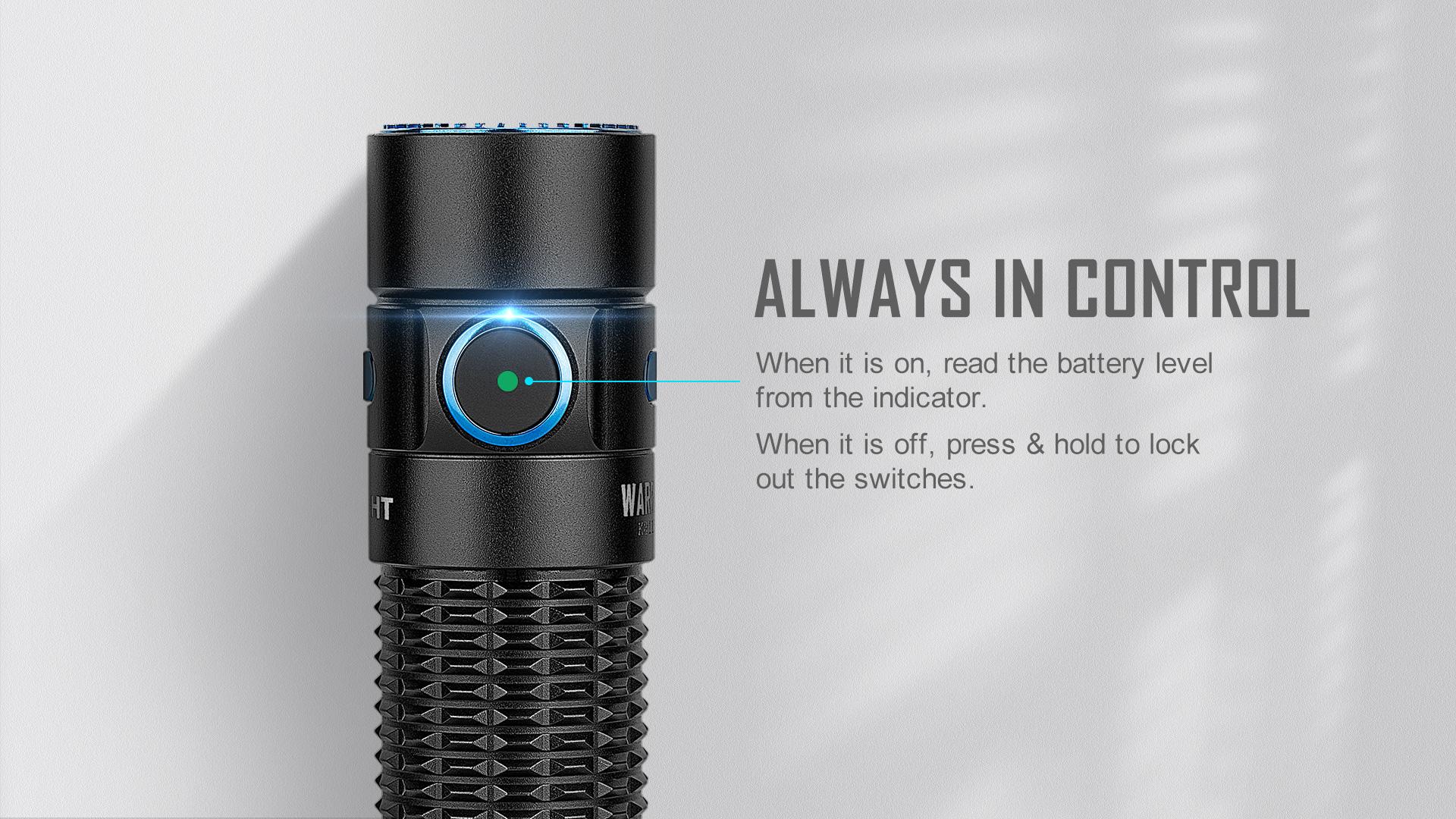 Warrior Mini Intelligent Indicator Light