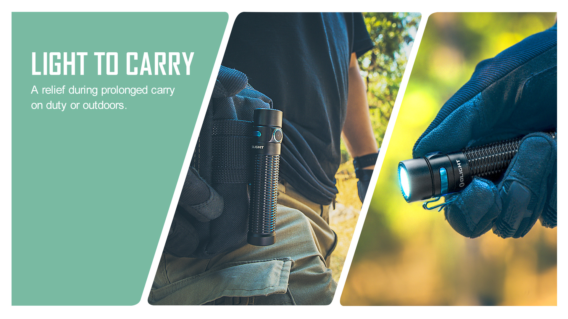Light to Carry small tactical flashlight