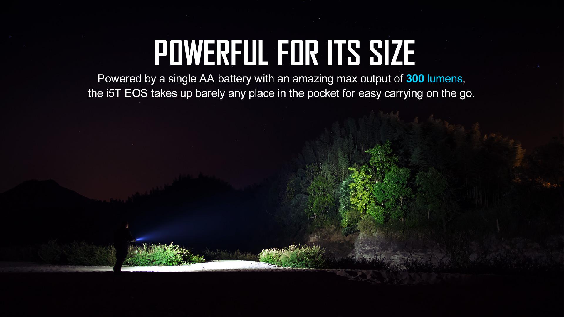i5T EOS Ti 300 lumen