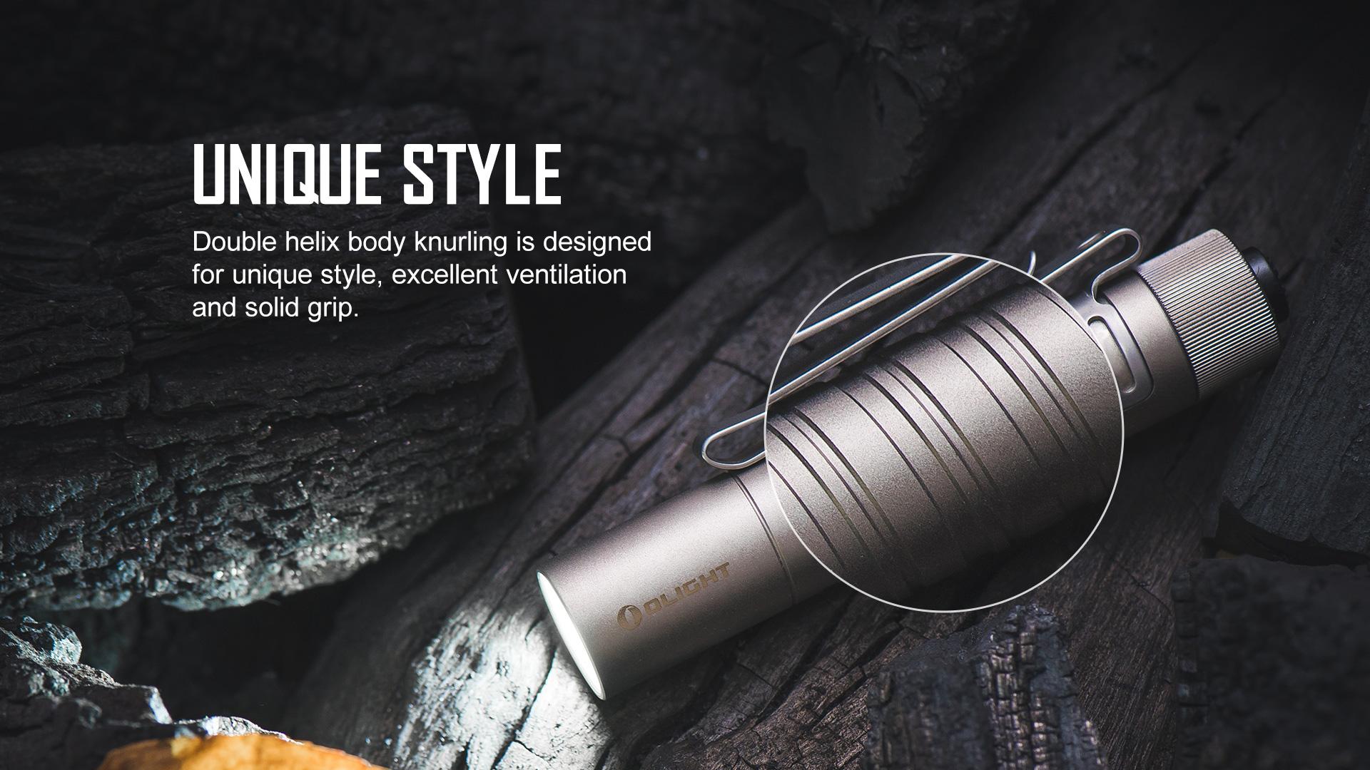 Unique style of pocket LED flashlight