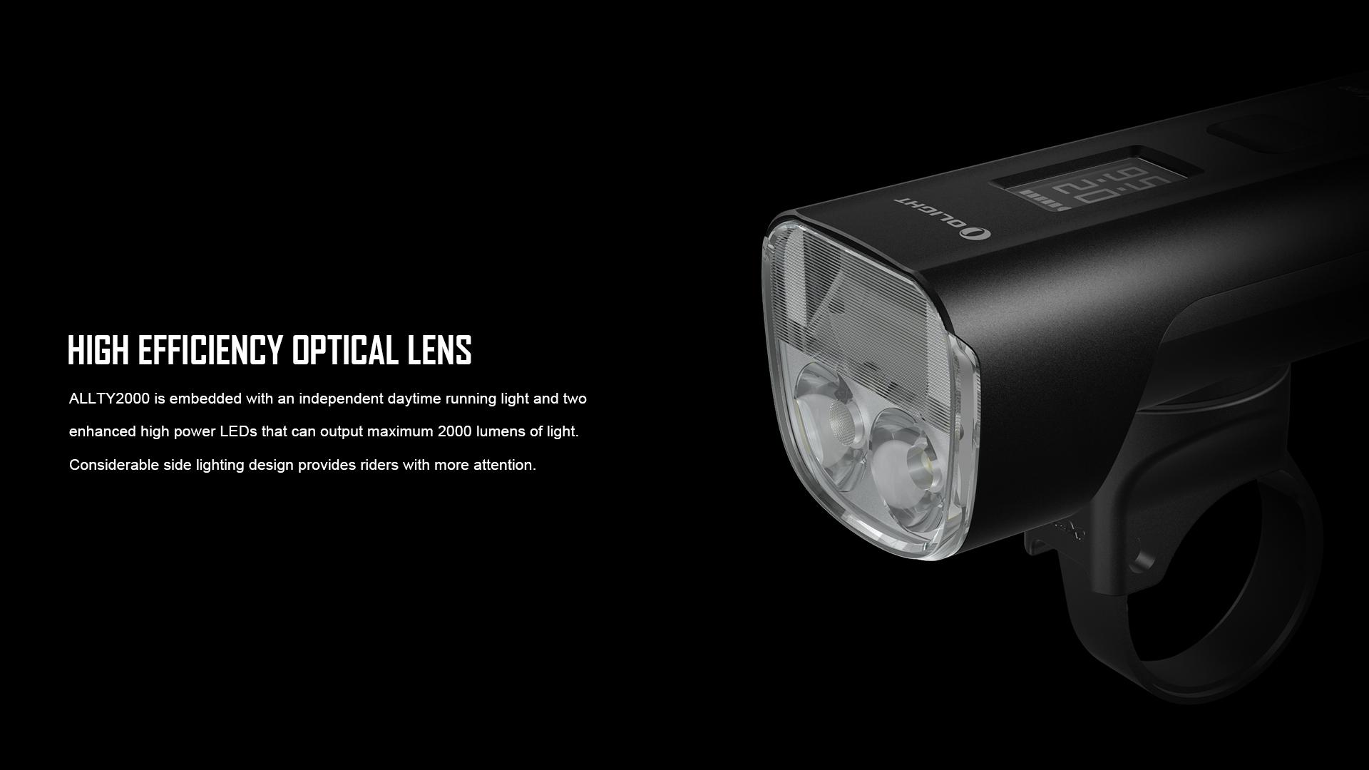 ALLTY 2000 has high-power LED